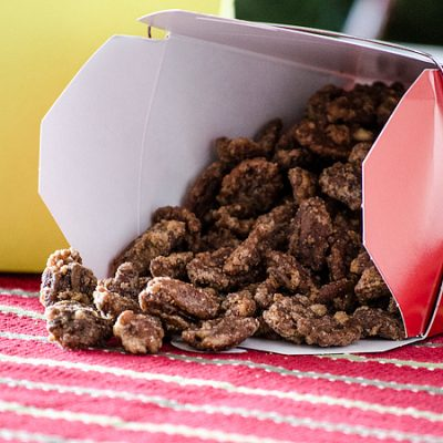 Sugared Pecans {Gifts from the Kitchen}