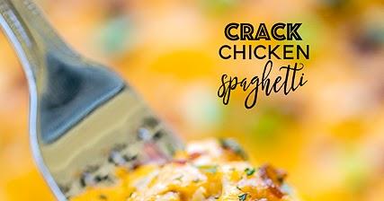 Crack Chicken Spaghetti