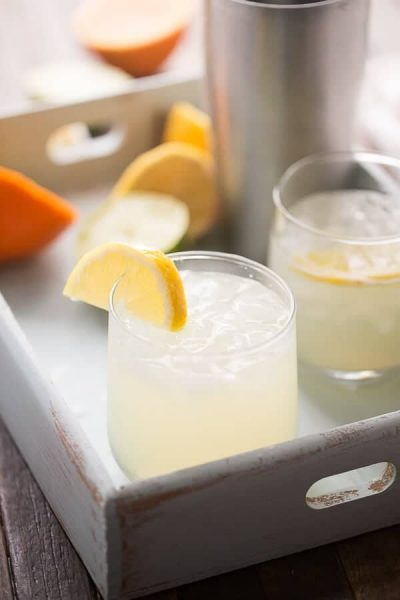 Lemon Lime Virgin Margarita