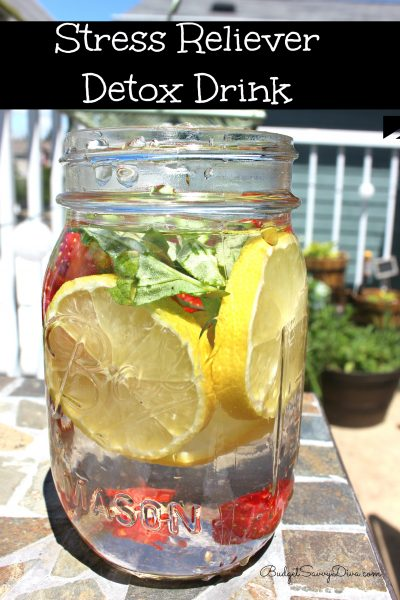 Stress Reliever Detox Drink