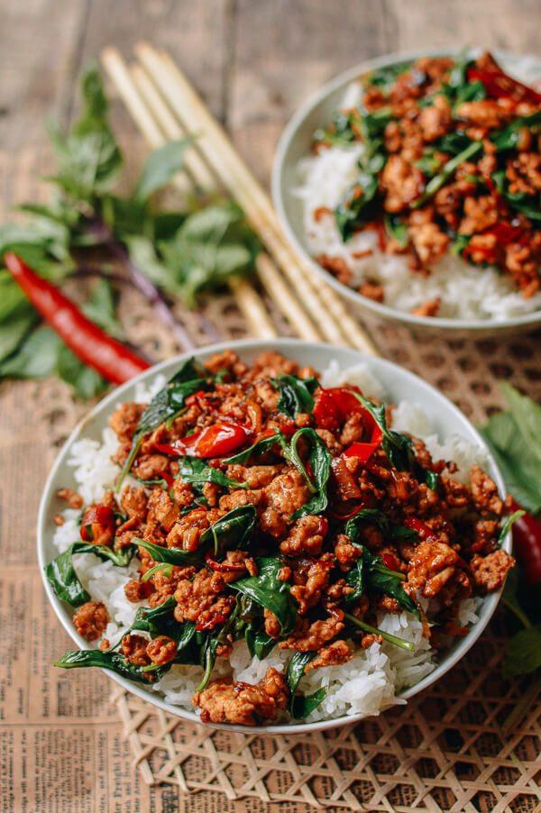 Thai Basil Chicken (Easy Gai Pad Krapow)