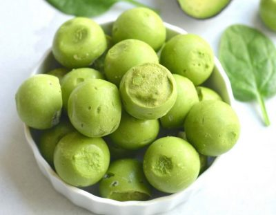 Green Smoothie Fat Bombs