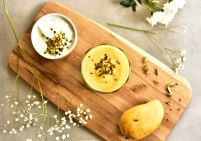 Mango Lassi – Indian Yogurt Drink With Mango
