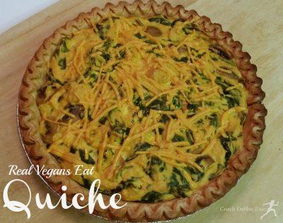 Vegan Quiche