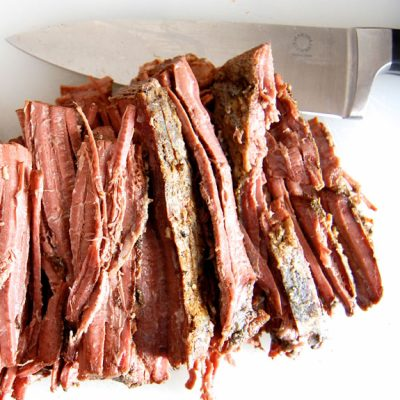 Melt In Your Mouth Slow Cooker Beef Brisket