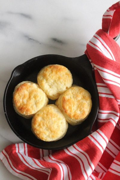 Quick & Easy Buttermilk Biscuits