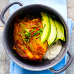 Easy Vegan Enchilada Casserole