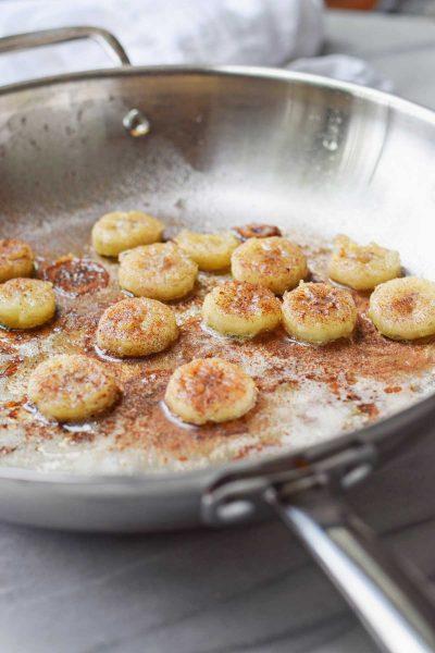 Fried Honey Banana