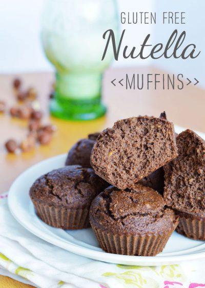 Gluten Free Nutella Muffins