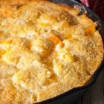 Two Two Easy Peach Cobbler