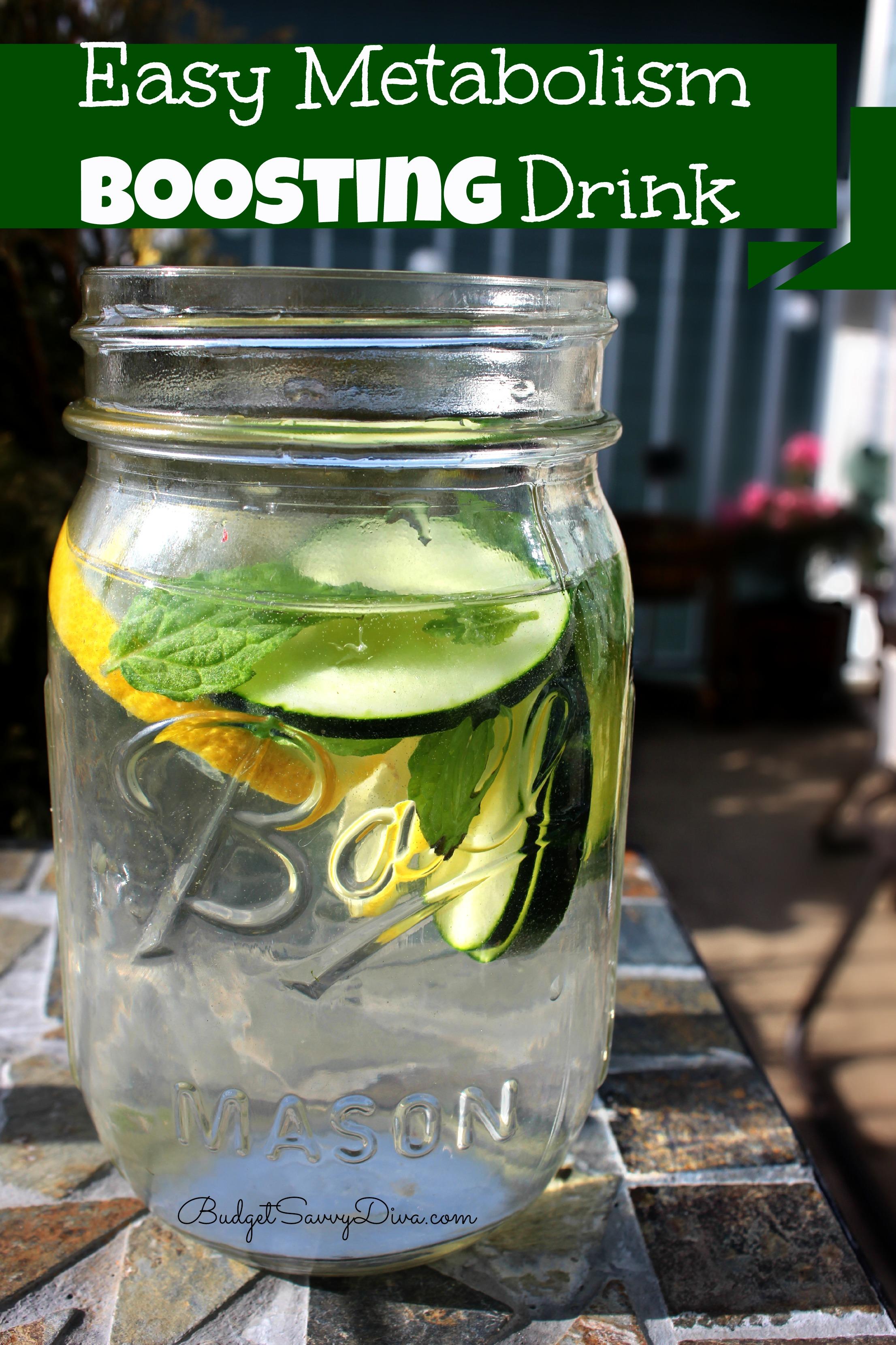 Easy Metabolism Boosting Drink