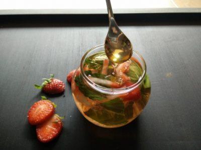 Strawberry Detox Drink