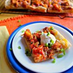 Kid Friendly Mexican Pizza Featuring Tyson® Chicken & The Peanuts Movie
