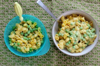 Macaroni & Peas (Kid-Friendly & Dairy-Free!)