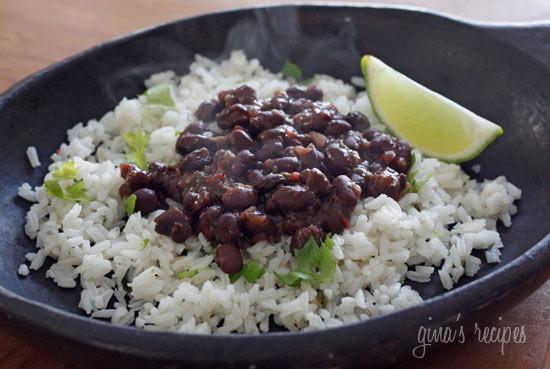 Cuban Style Black Beans