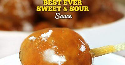 The Best Ever Simple Sweet and Sour Sauce