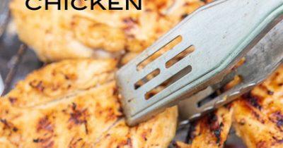 Cajun Honey Mustard Grilled Chicken