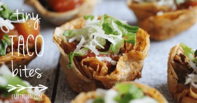 Tiny Taco Bites