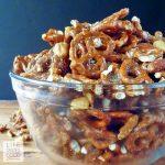 Caramel Crunch Snack Mix #GoNutsforNuts