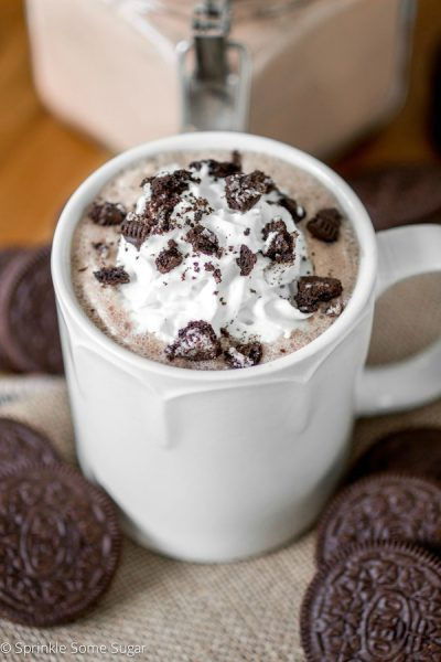 Cookies and Cream Hot Chocolate