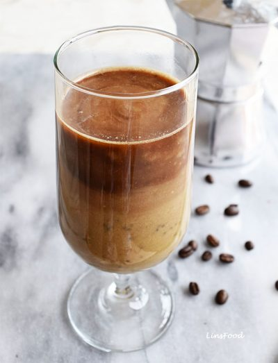 Coffee, Avocado and Banana Smoothie – perfect pre or post workout drink