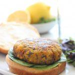 Vegan Mediterranean Chickpea Burgers