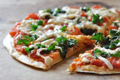 Easy Vegan, Gluten-Free Chickpea Crust Pizza