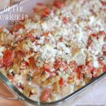 {Easy Dinner Recipe} Greek Chicken Bake