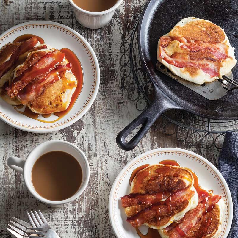 Buttermilk-Bacon Pancakes