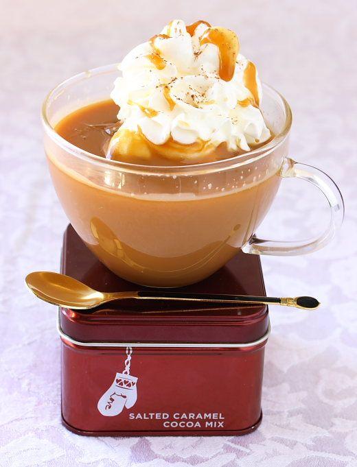 Salted Caramel Hot Chocolate