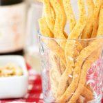 Gluten-Free Spicy Cheese Straws