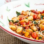 Tomato and Bacon Gnocchi Skillet Dinner