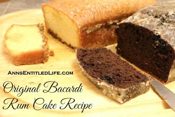 Original Bacardi Rum Cake