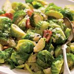 Sauteed Brussels Sprouts With Bacon & Onions