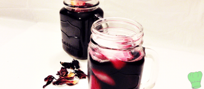 Zobo drink (Hibiscus drink)