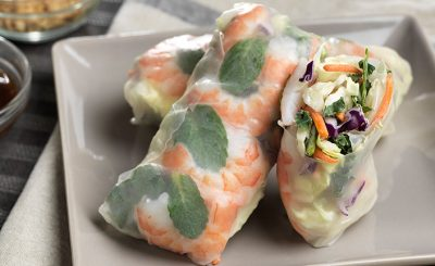 Healthy Asian Spring Rolls