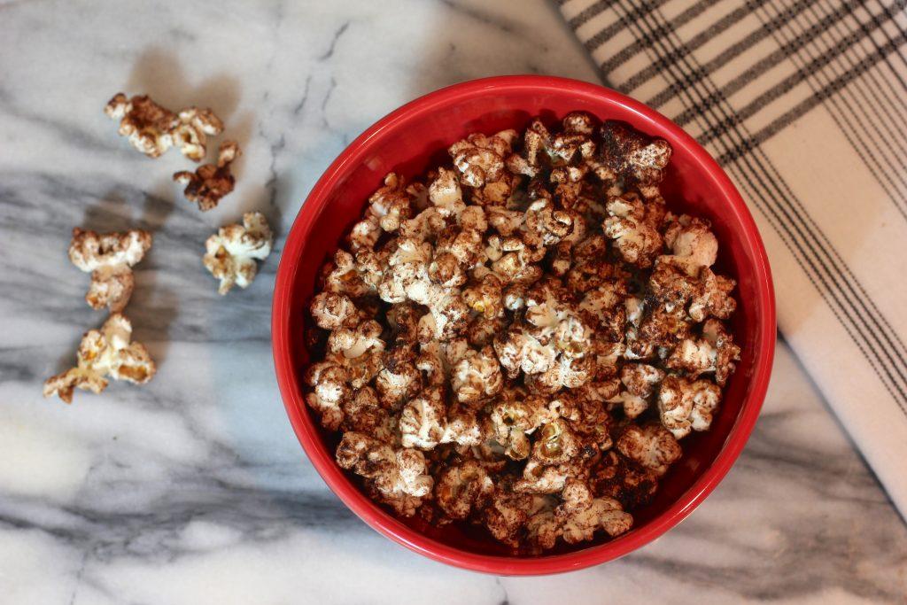 Cocoa (Chocolate) Popcorn Snack