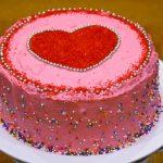 Eggless Checkerboard Cake