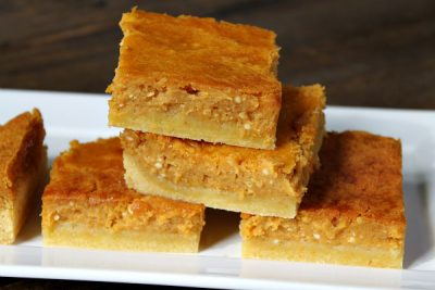 Pumpkin Gooey Butter Bars