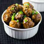Quick Easy Asian Meatballs