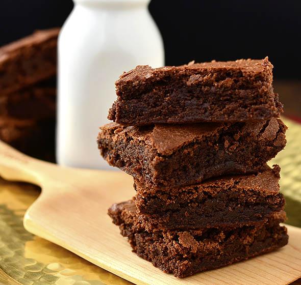 Gluten-Free Fudge Brownies