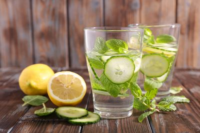 The 10-Day Tummy Tox Water