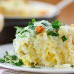 Cheesy Cilantro Cauliflower Rice