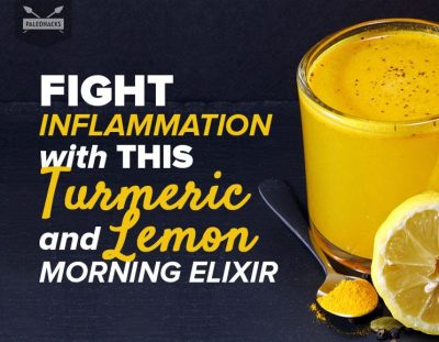 Fight Inflammation With This Turmeric and Lemon Morning Elixir