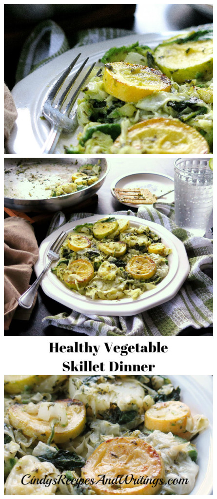 Healthy Vegetable Skillet Dinner