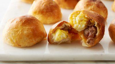 Air Fryer Breakfast Biscuit Bombs
