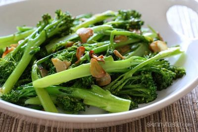 Easy Garlic Broccolini