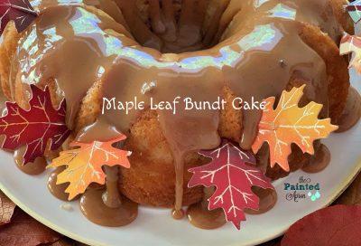 Maple Leaf Bundt Cake