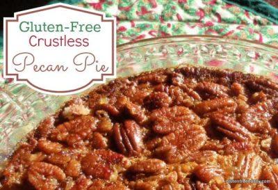 Easy Crustless Gluten-Free Pecan Pie