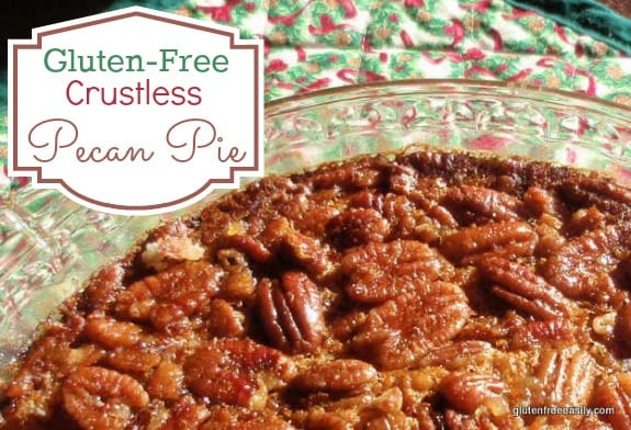 Easy Crustless Gluten-Free Pecan Pie
